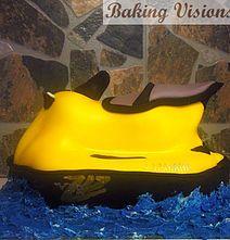 Yamaha Jetski Cake Baking Visions