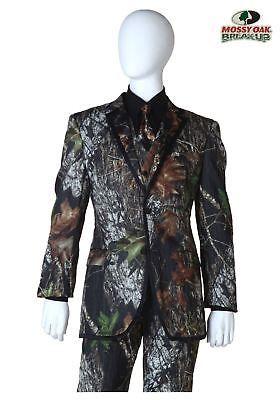 Tuxedo and Formal Jackets 105511: Mossy Oak Tux Coat Camou Jacket Alpine Wedding Tuxedo Duck Dynasty Formal Large -> BUY IT NOW ONLY: $79.95 on eBay!