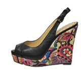 Flashes of floral! Nine West