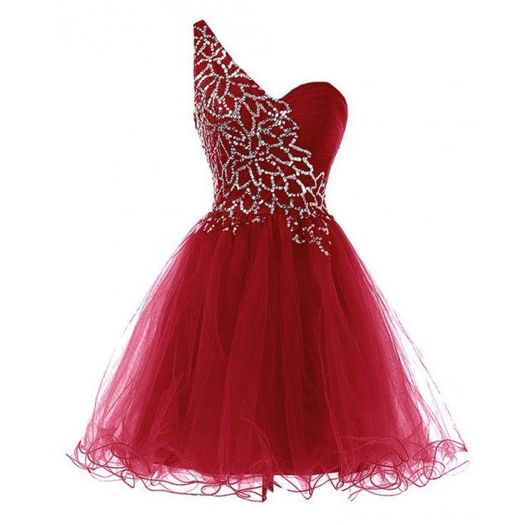 10  ideas about Dark Red Dresses on Pinterest  Asymmetrical skirt ...