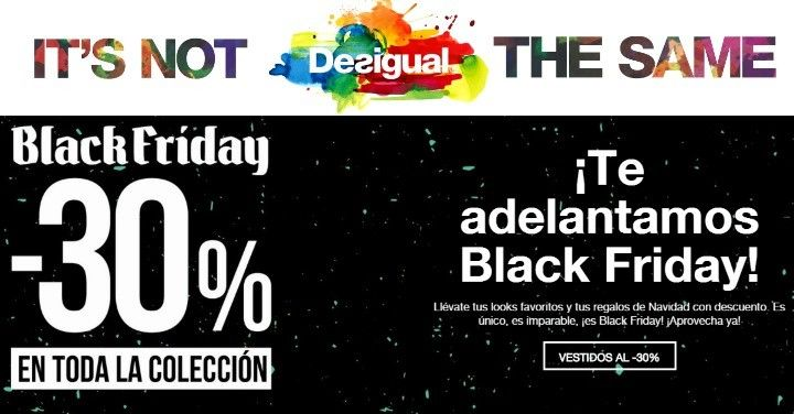 Desigual Black Friday