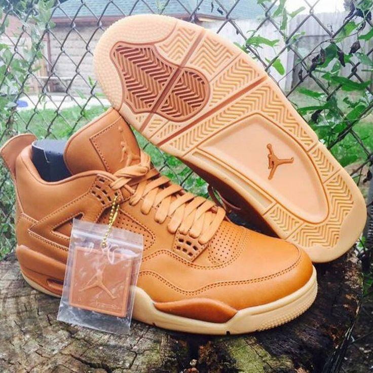 "First Look: Air Jordan 4 Retro Pinnacle ""Wheat"" - EU Kicks: Sneaker Magazine"