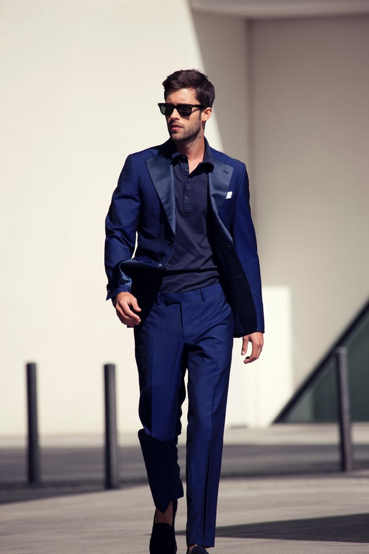 151 best images about Suits - colour on Pinterest | Blue suits ...