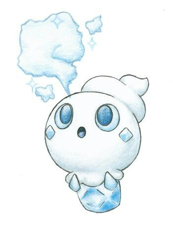 Vanillite I like this Pokemon  a lot and I don't care what others say