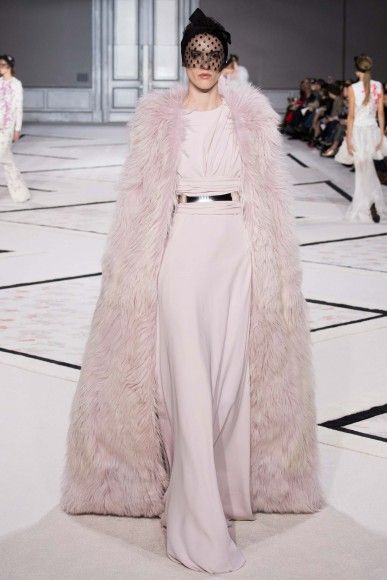 The Giambattista Valli Couture Spring 2015 collection served up edgy elegance.