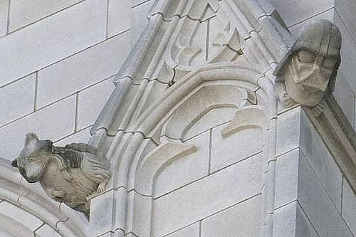 Darth Vader Grotesque at the Washington National Cathedral   Atlas Obscura