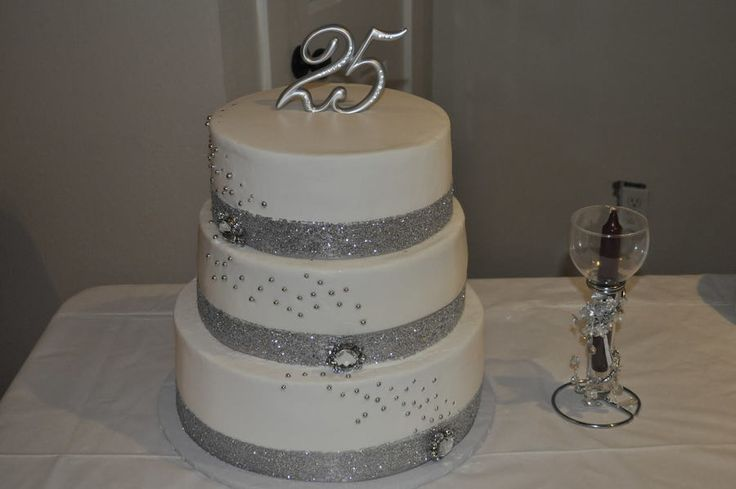 25th Wedding Ideas: Best 25+ 25th Anniversary Cakes Ideas On Pinterest