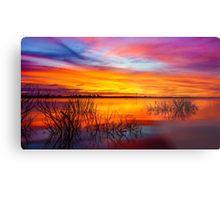 Glorious Lake Eppalock Sunset Metal Print