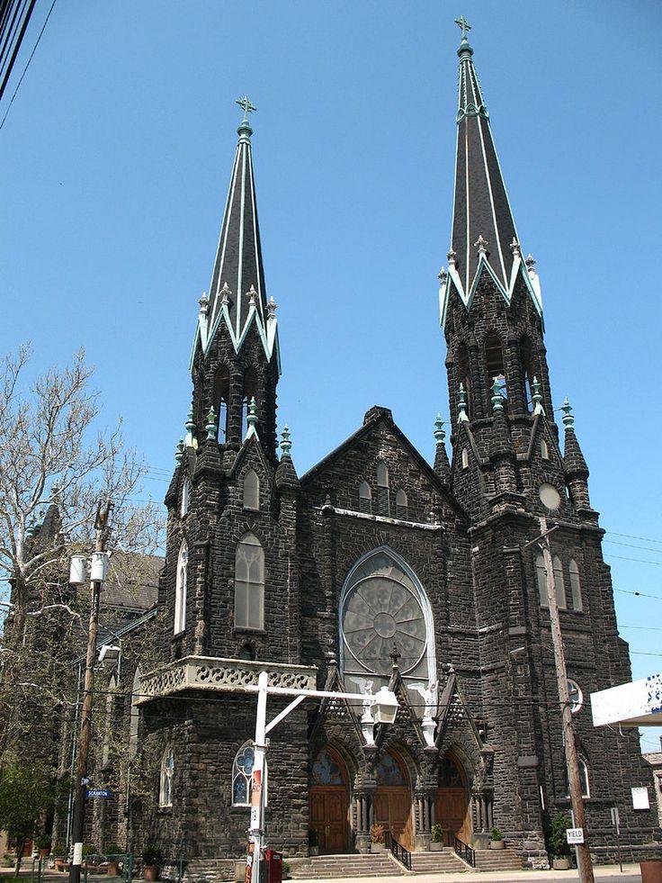 St. Michael the Archangel Catholic Church in Cleveland, Ohio.