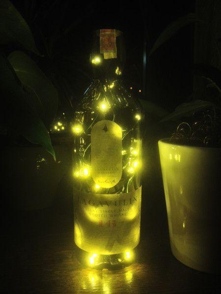 lagavulin flaschen lampe 35 led s bottle. Black Bedroom Furniture Sets. Home Design Ideas