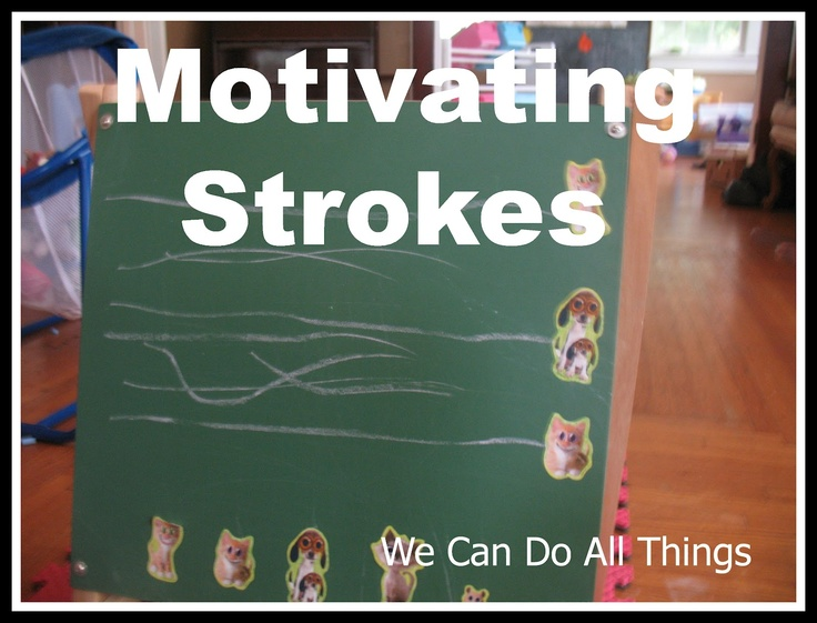 we can do all things: Motivating Strokes