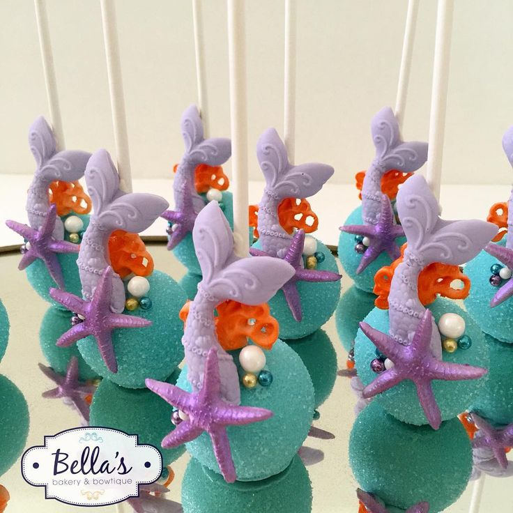 Mermaid Cake Pops                                                                                                                                                                                 More