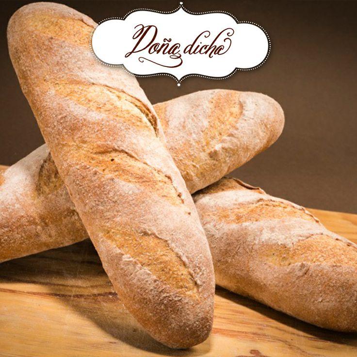 Pan francés integral.