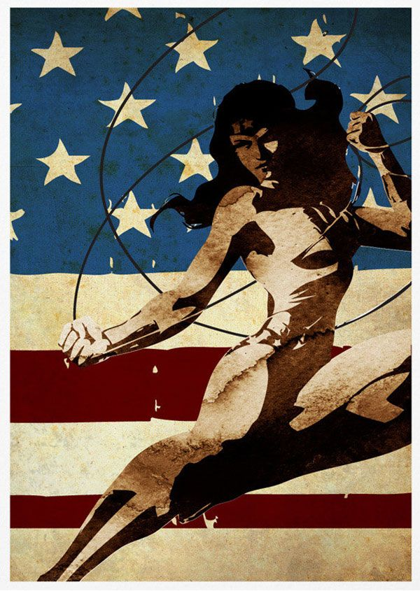 Super Heros: Posters Vintage Batman, Spider-Man, Iron Man, Superman