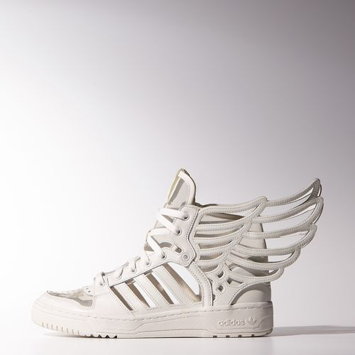 Adidas Jeremy Scott Wings 2.0 Cutout Shoes | adidas US (BRILLIANT! Reminiscent of the skeleton technique!)
