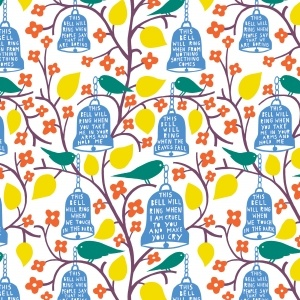 Rob Ryan Oil Cloth Roll... this is to be mine all mine :)