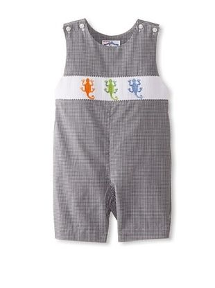 56% OFF Vive La Fete Kid's Lizards Overall (Black/White)