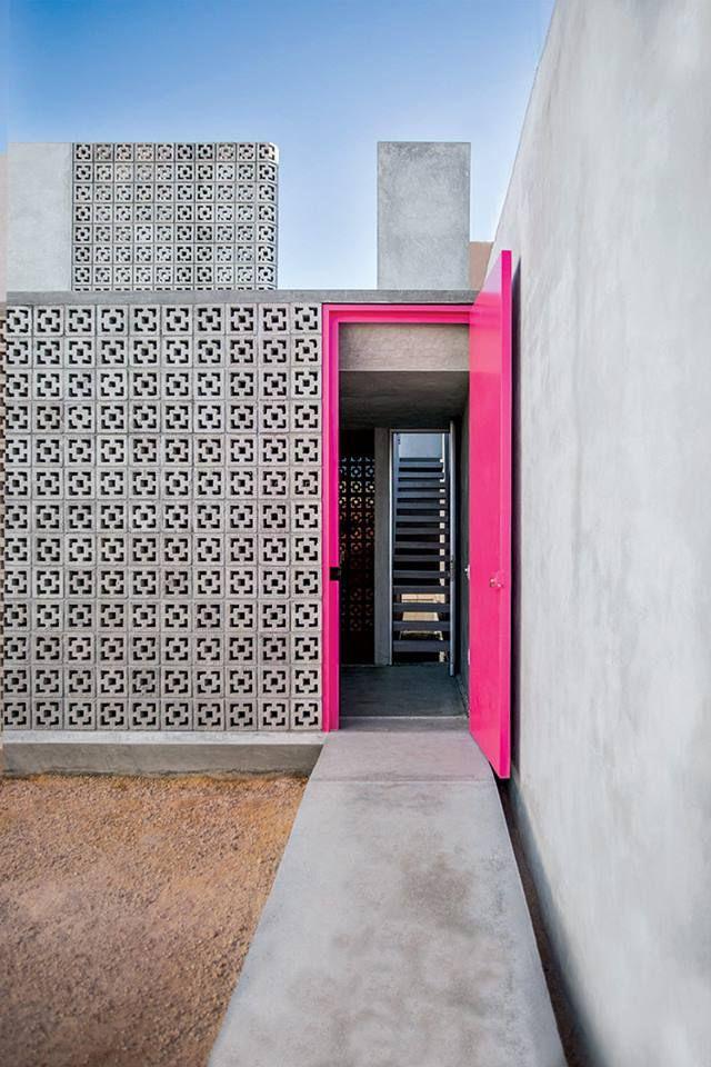 Pasillo, entrada, arquitectura contemporánea, Casa Gabriela Mérida
