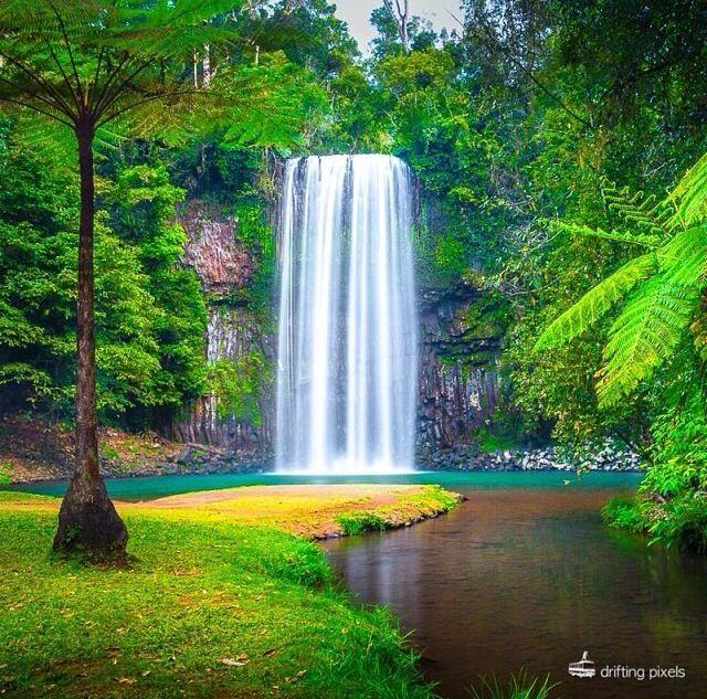 Milla Milla Falls - Queensland, Australia