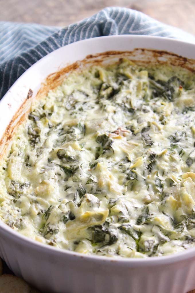 A creamy, spinach & artichoke dip made with cream cheese & fresh spinach. A total crowd pleaser. A classic spinach & artichoke dip will just never get old, am I right?! This has cream cheese in it making it is just so CREAMY good. I love that the base is cream cheese and not mayo. A little...Read More »
