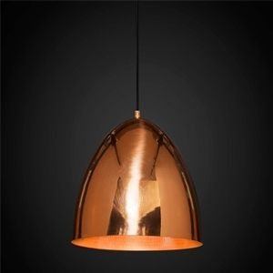Emac & Lawton - Egg Metallic Copper Ceiling Lamp