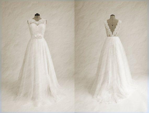 Robe de mariée dentelles robe de mariée robe de par ELDesignStudio, $299.99