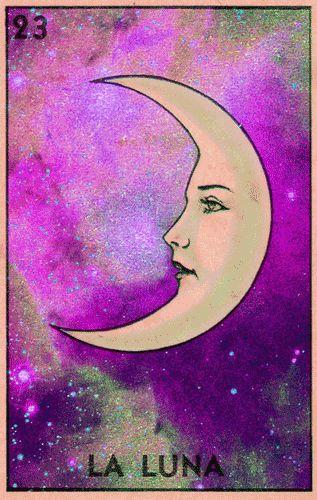 La Luna.                                                                                                                                                                                 Más