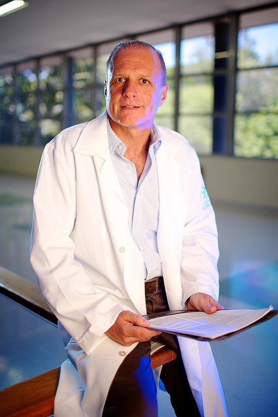 O psiquiatra Luis Augusto Rohde, no Hospital de Clínicas de Porto Alegre