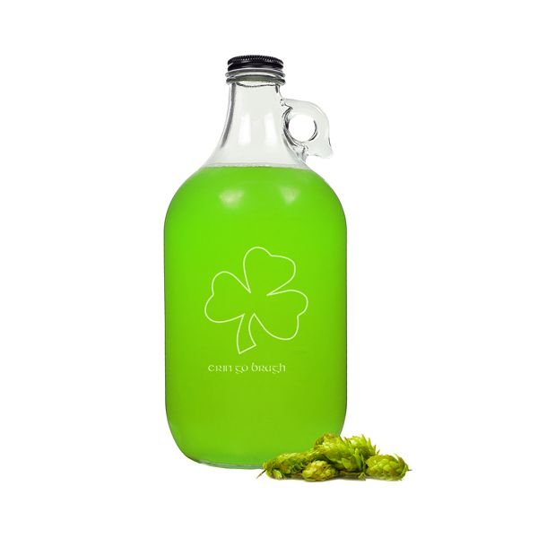 Erin Go Braugh Irish Craft Beer Growler