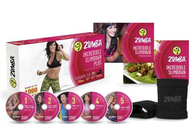 Zumba Fitness Incredible Slimdown DVD System #Zumba