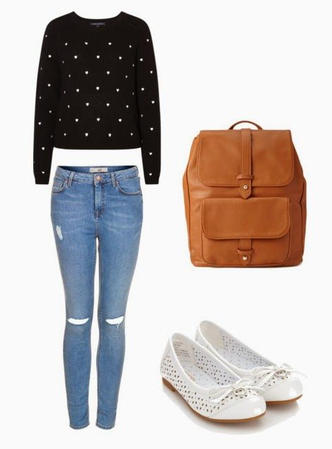 Cute college outfit (outfit details at link)