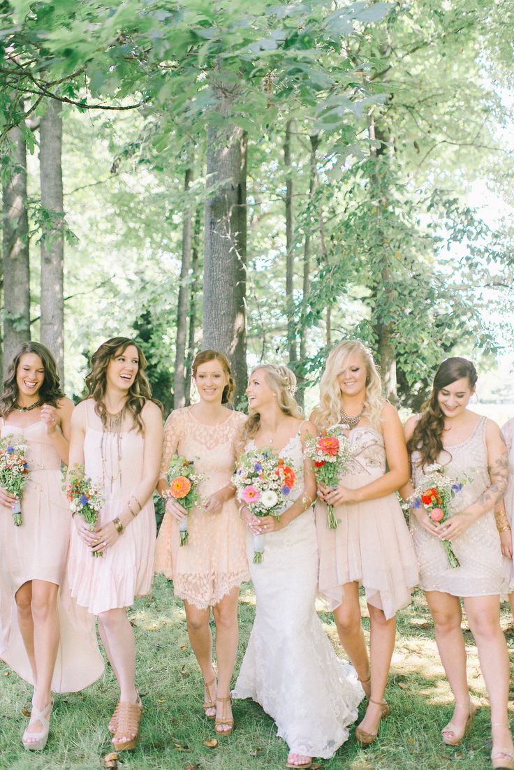 86 best bridesmaids images on pinterest wedding bridesmaids bohemian chic wedding ombrellifo Images