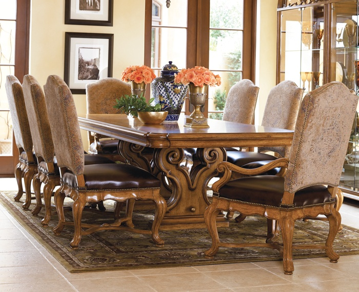 Star Furniture Thomasville Hills Of Tuscany Dining 3049 Table Only
