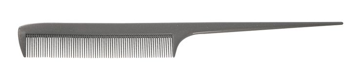 "1907 Clippermate Series 8.5"" Rat Tail Comb. Industry standard. Strong, smooth, flexible and heat resistant. Most popular and versatile combs. Packaged in reusable plastic boxes. Medium teeth, great for sectioning, teasing and lifting.  http://www.frommbeauty.com/shop/product/"