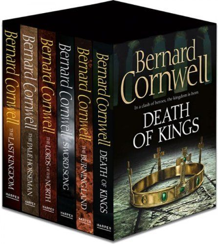 The Warrior Chronicles (the Uthred series): Books 1 to 6 by Bernard Cornwell, http://www.amazon.co.uk/dp/B009N7J6PQ/ref=cm_sw_r_pi_dp_ZR1Yrb1EYMGZH