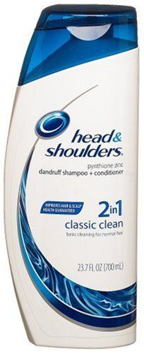 Head and Shoulders 2in1 Dandruff Shampoo and Conditioner Classic Clean 237Ounce Bottle >>> You can find more details by visiting the image link. #ShampooPlusConditioner