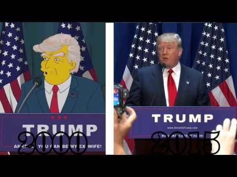 The Simpsons PREDICTED a Donald Trump presidency. Still believe your vote counts?The whole system is rigged and are constantly buying into the lies.