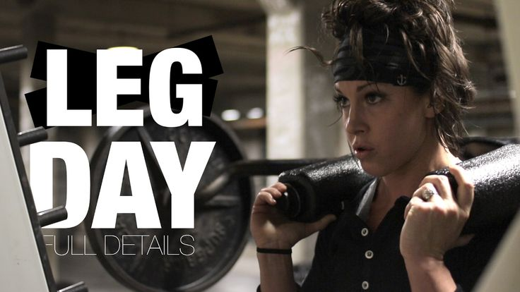 FULL LEG DAY WORKOUT | DANA LINN BAILEY - YouTube