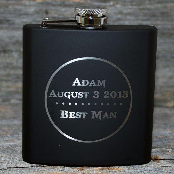 Wedding party favors Groomsmen flask Best von MemoriesMadeToronto, $14.38