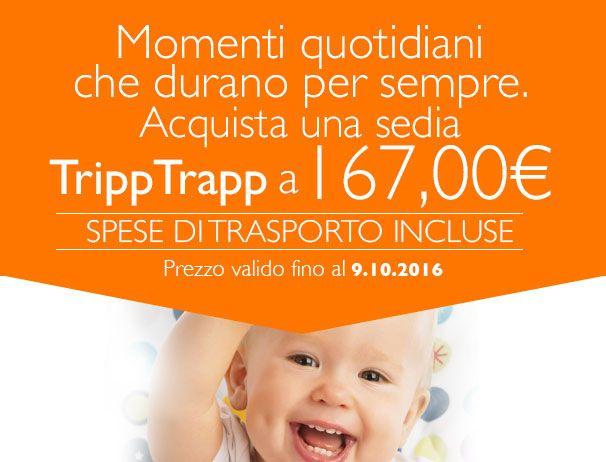 Aggiungi un posto a tavola! Tripp Trapp è il seggiolone - sedia evolutiva che accompagna il tuo bambino dalla nascita fino all'età adulta. E sul nostro sito, in questi giorni la trovi in offerta a soli 167 euro!!! \o/ \0/ \O/  La trovi qui :http://ndgz.it/sedia-stokke-tripp-trapp  #stokke #tripptrapp