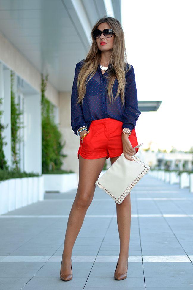 BLUE & RED   Mi aventura con la moda