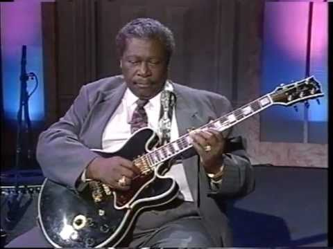 BB King - Guitar Lessons - Picking, Action and String Gauges