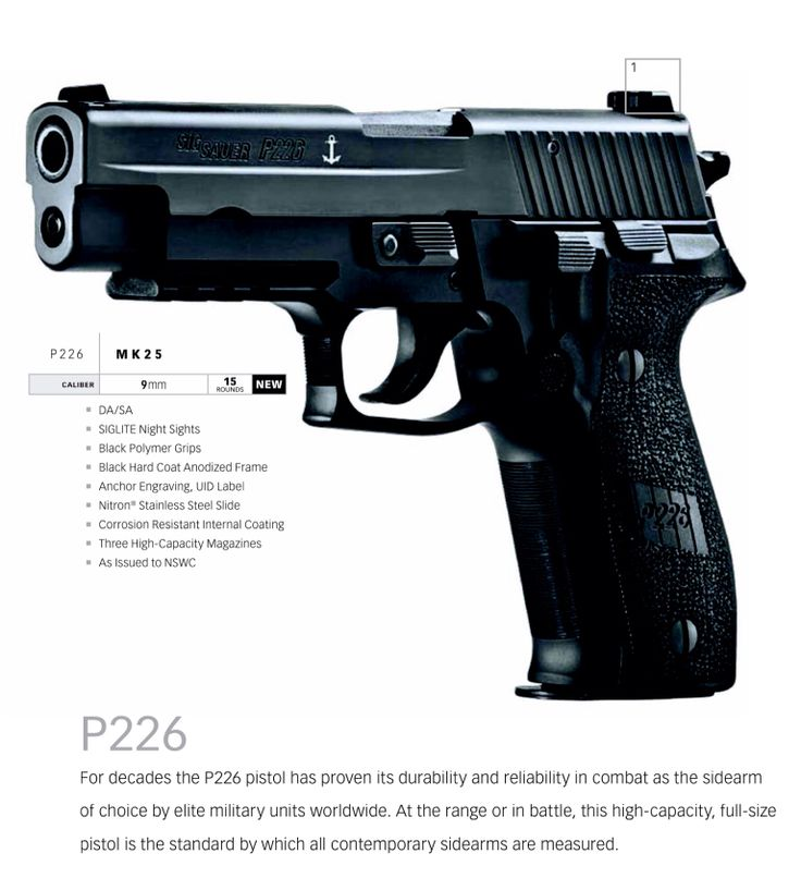 Sig Saur P226 MK25 Navy  Purchased $950 - Academy 2/2/2014