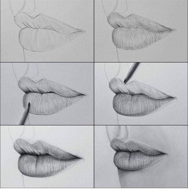 Wie zeichnet man Lippen? – #drawing #Lippen #man #Wie #zeichnet