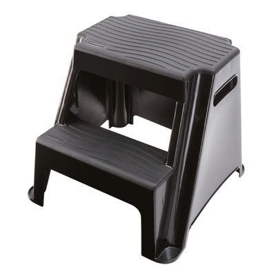 Rubbermaid 2-Step Plastic Molded Step Stool with 300 lb. Load Capacity  sc 1 st  Pinterest & Best 25+ Plastic step stool ideas on Pinterest | 3 step stool ... islam-shia.org