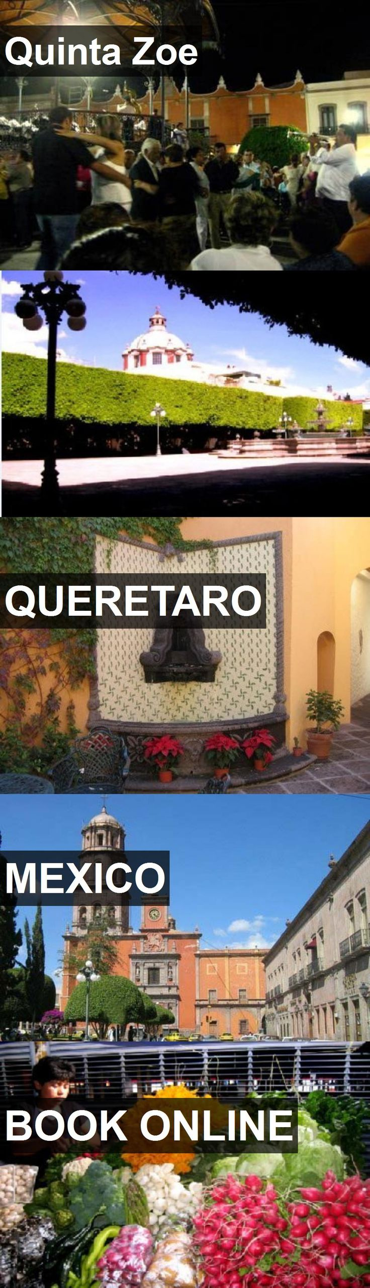 Hotel Quinta Zoe in Queretaro, Mexico. For more information, photos, reviews and best prices please follow the link. #Mexico #Queretaro #QuintaZoe #hotel #travel #vacation