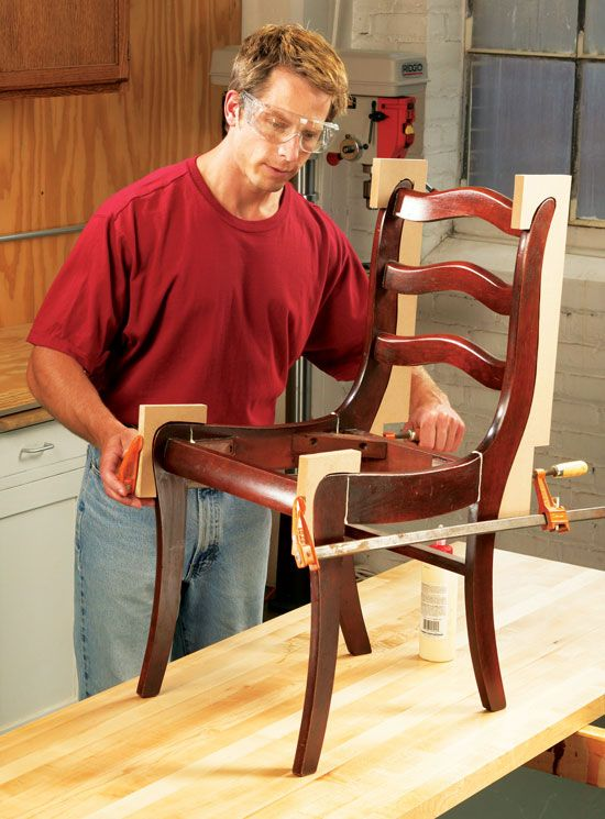 AW Extra 1/31/13   Furniture Repair Tips   Woodworking Shop   American