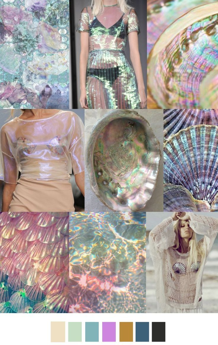 http://skreened.com/floralanimals/mermaid-off-duty S/S 2017 pattern & colors trends: UNDER THE SEA