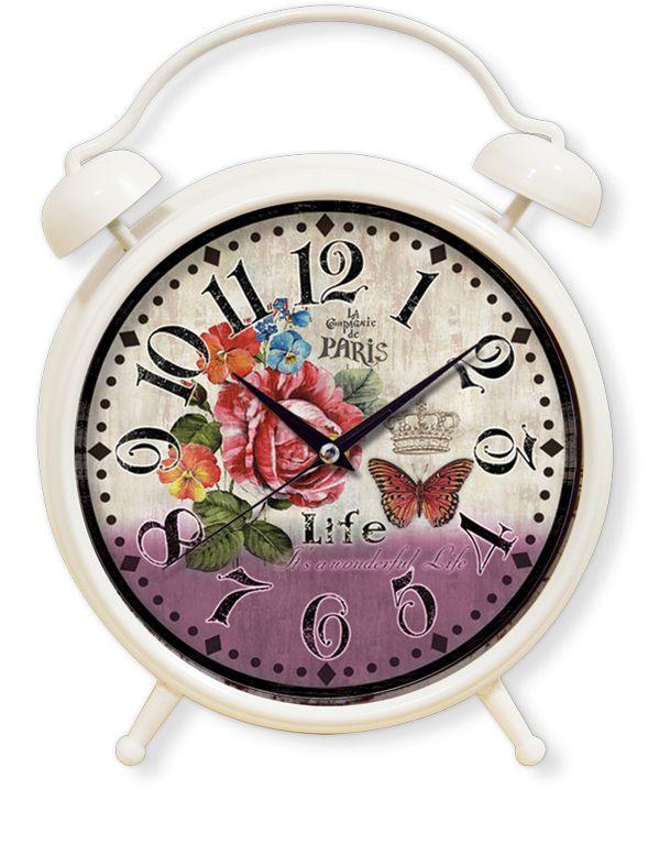 Dekoratif Masa Saatleri Modeli  Ürün Bilgisi ;  Materyal        : Plastik Gövde & Bombeli Gerçek Cam Ebat            : 35 cm. Mekanizma    : Akar Saniye                 Dekoratif şık masa saati Sessiz çalışır Ortama ayrı bir hava verir Ürün fotoğraf görüldüğü gibidir Sevdiklerinize bu şık ve dekoratif masa saatini hediye edebilirsiniz