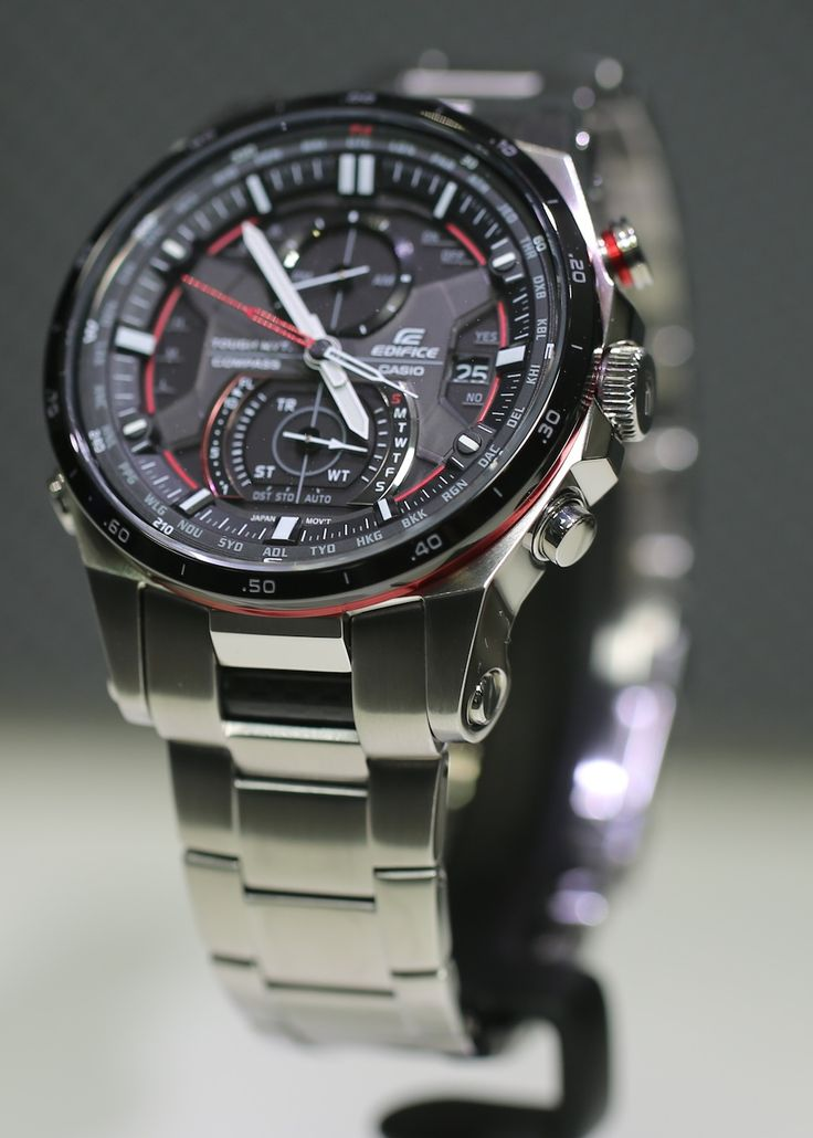 Casio Edifice EQW-A1200 Sensor Chronograph Watch For 2013 Hands-On